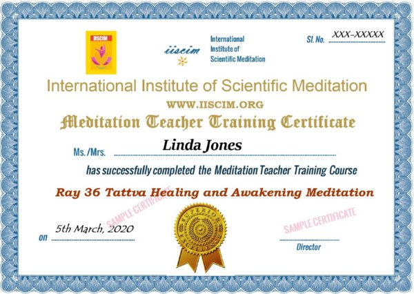 Ray 36 Tattva Meditation Course