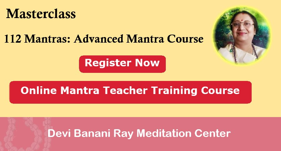 Mantra Yoga Teachers Training Course Devi Banani